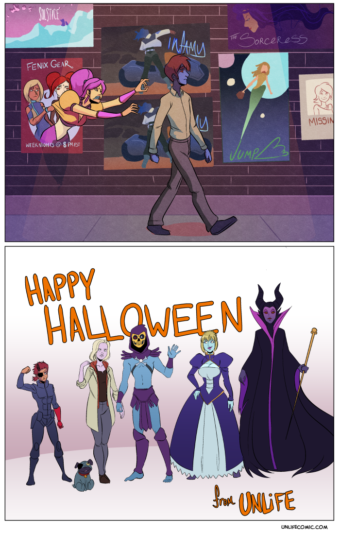 10/31/2015 – But maybe It wasn't… HAPPY HALLOWEEN, BITCHES